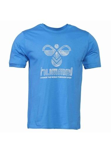 Hummel Erkek Tişört Wavo 911374-7620 Mavi